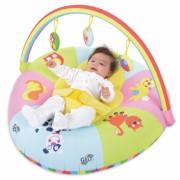 Centru de joaca si activitati pentru bebelusi Curcubeul vesel, gonflabil