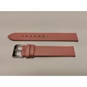 SZ2145 16mm rózsa színű XL-es valódi bőrszíj