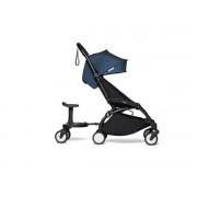 Babyzen Poussette transportable yoyo2 bleu air france et planche à roulettes noir 6+
