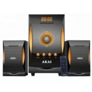 SISTEM BOXE 2.1 AKAI MP3/SD 18W+10Wx2