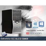 Calculator NEC ML470 Tower Procesor E8400 4GB RAM Hard Disk 160 GB Placa Video 1 GB