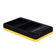 Patona Incarcator Rapid Dual USB pentru Nikon EN-EL14 cu Cablu Micro USB