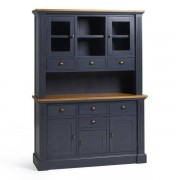 Oak Furnitureland Rustic Solid Oak and Painted Dressers - Large Dresser - Highgate Range - Oak Furnitureland