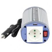 HQ ÁRAMÁTALAKÍTÓ 150W 24 > 230V + USB (HQ-INV150WU-24)