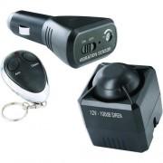 Alarm do auta Smartwares vč. diaľkového ovládania, monitorovanie interiéru, senzor vibráí, 12 V
