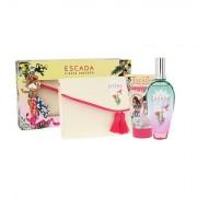 ESCADA Fiesta Carioca sada toaletní voda 100 ml + tělové mléko 150 ml + kosmetická taška pro ženy