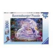 Пъзел Ravensburger 300 части XXL - Еднорози в рая, 7013256