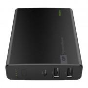 Baterie externa portabila GP Powerbank, 10400 mAh, 2.4 A, Negru