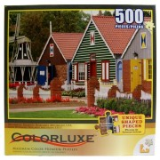 Colorluxe Windmill Island Holland Michigan USA 500 Pieces Puzzle