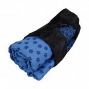 Prosop NEZ Yoga Towel Blue 185 cm Anti-Alunecare