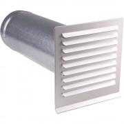 Štedna zidna cijev za cijevi promjera: 10 cm Wallair N37826