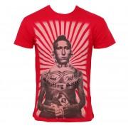 utcai póló férfi - Brave - SOMETHING SACRED - SSM-27 - RED