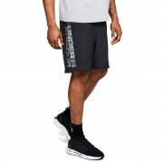 Under Armour Pánské šortky Woven Graphic Wordmark Shorts Black - Under Armour