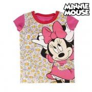 Barn T-shirt med kortärm Minnie Mouse 8582 (storlek 4 år)
