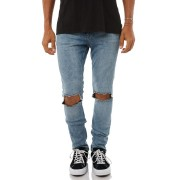 Cheap Monday Tight Rip Mens Jean Shift Blue
