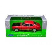 1969 Ford Capri Red 1/24 - 1/27 Diecast Model Car By Welly 24069