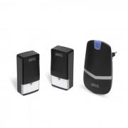 Digitális elem- és vezeték nélküli csengő - Kinetic - (55343BK-2)