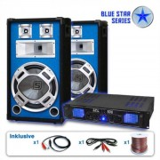 Electronic-Star Serie Blue Star Basskick Set sonido profesional 1600W (BS-Basskick)