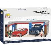 Set de constructie Cobi, Cars, Maserati Garage (500pcs)