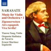 Sarasate - Music for Violin & Orchestra Vol.1 (0747313219179) (1 CD)