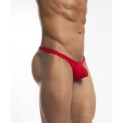 Cocksox Solid Thong Swimwear Code Red CX22