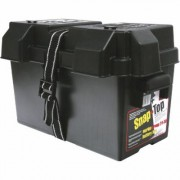 Noco Heavy-Duty Large Battery Box - Model HM318BK, Black