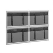 Vogels Splittwandhalter-Set für 2x2 Flachbildschirme
