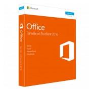 Microsoft - Office famille et étudiant 2016 1 Poste PC En Téléchargement immédiat