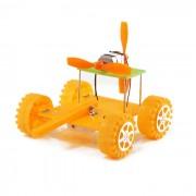 DIY ensamblaje educativo tanque de tanque de juguete para los ninos - amarillo