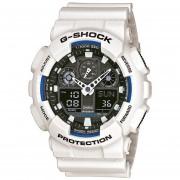 Reloj G SHOCK GA_100B_7A Blanco Hombre