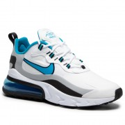 Обувки NIKE - Air Max 270 React CT1280 101 White/Laser Blue/Wolf Grey