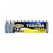 Baterii Toshiba Alkaline AA LR06 1.5V 12 Baterii / Set