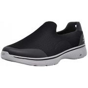 Skechers Performance Go Walk 4 Zapatillas de senderismo para hombre, Negro / Gris, 10