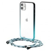 Transparent Baseus Protective Case For Iphone 11 6.1 (Blue)