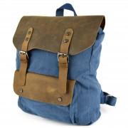 Delton Bags Marineblauer Canvas Rucksack