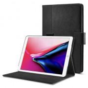 Spigen Case iPad Pro 10.5 inch (2017) hoes met Folio stand - Zwart Leder