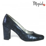 Pantofi dama, din piele naturala 242903/1600/Blue/Betina
