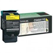 Toner Lexmark C540A1YG yellow, C54x/X54x 1000str.