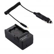 PULUZ 2-in-1 Digitale Camera batterij autolader voor Sony NP-FW50 accu