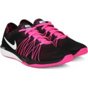 Nike W DUAL FUSION TR Training Shoes For Women(Black)