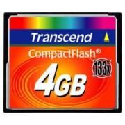 Scheda di memoria Compact Flash Transcend TS4GCF133 4Gb
