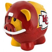 NFL Kansas City Chiefs Resin Large Thematic Piggy Bank