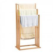 IDIMEX Porte-serviettes MELTON, en bambou, finition naturelle