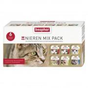 6х100г beaphar за бъбреци, диетична консервирана храна за котки