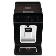 Espressor automat Krups Evidence EA8908, 1450 W, 15 bari, rezervor boabe 260g, rezervor apa 2.5 l, rasnita 3 niveluri (Negru)