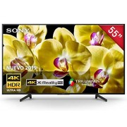 "Sony XBR-55X800G Pantalla 4K Ultra HD 55"" Android TV Serie X800G"