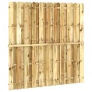 vidaXL Hekpaneel 180x180 cm FSC geïmpregneerd grenenhout