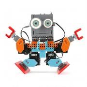 UBTECH Jimu Buzzbot and Muttbot Robotics Kit - мултифункционален робот, управляван от iOS и Android устройства чрез Bluetooth (шарен)