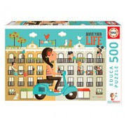 Puzzle Drive Your Life, 500 piese