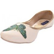 Tamanna butterfly Bellies For Women(White)